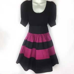 VOOM Joy Tan   pin up dress S